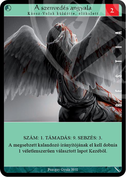 a szenvedes angyala