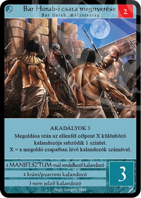 Bar Horab-i csata megnyerése