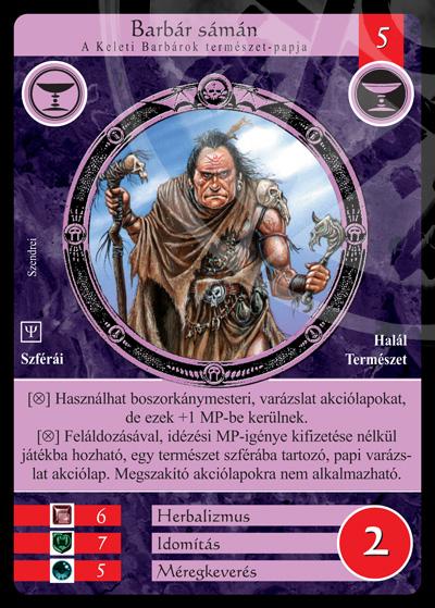 Barbár sámán