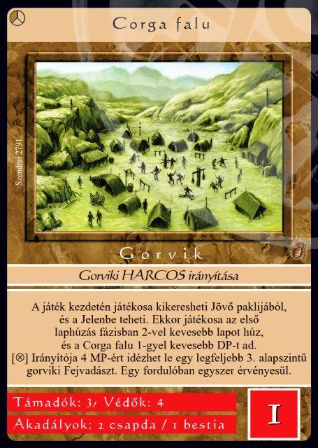 corga falu