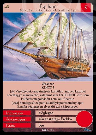 Égi hajó