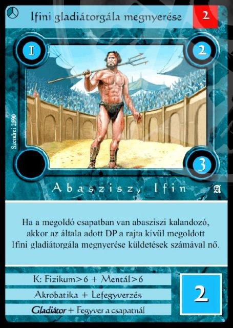 megnyerjem a gladiátorgálát