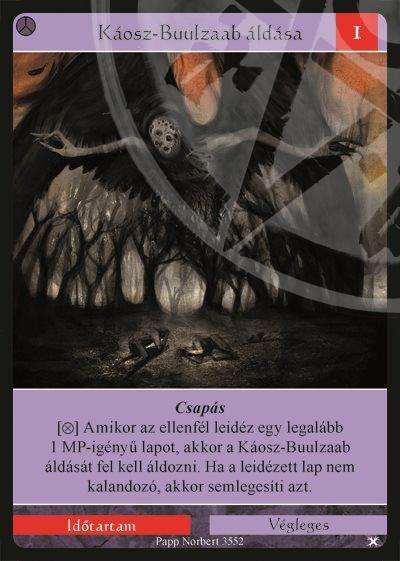 Káosz-Buulzaab áldása
