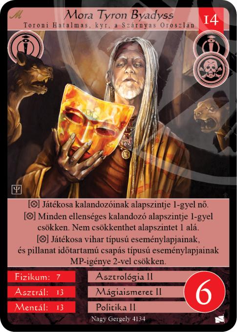 Mora Tyron Byadyss