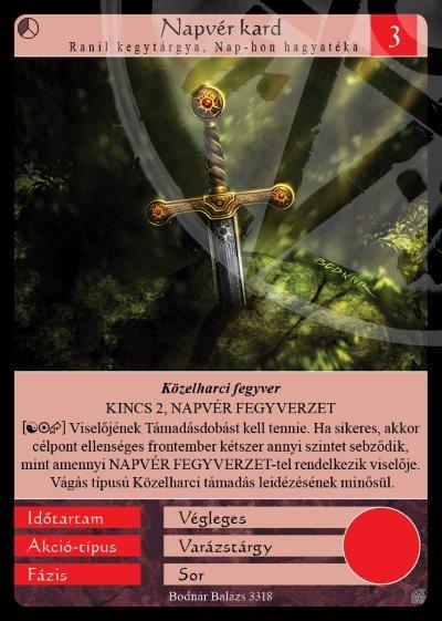 Napvér kard