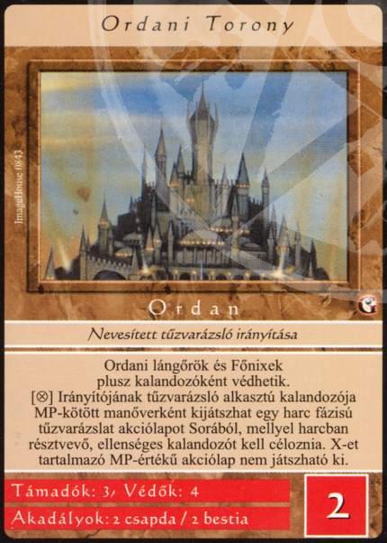 Ordani torony