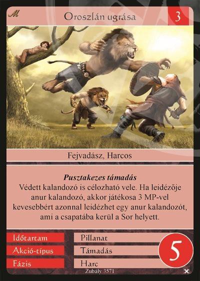 Oroszlán ugrása