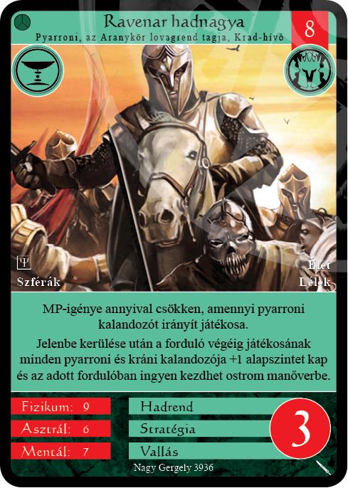 Ravenar hadnagya