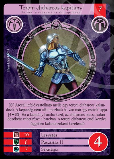 Toroni elitharcos kapitány