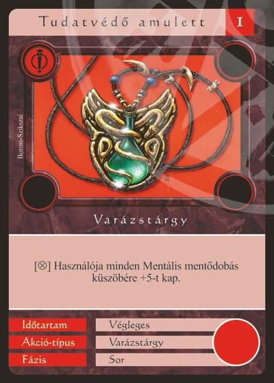 Tudatvédő amulett